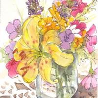 Bouquet-in-a-Jar