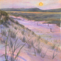 Dune-Sunset
